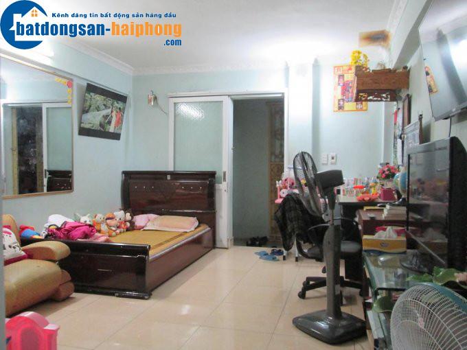 Bán nhà tập thể Thái Phiên ngõ 258, DT: 40m2, giá 350 triệu
