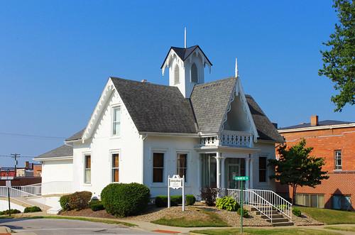 mountgilead morrowcounty ohio village downtown library publiclibrary