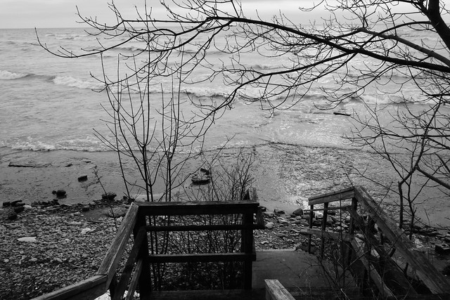 Stairway To The Lake, Sony DSC-RX100, Sony 28-100mm F1.8-4.9