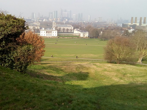 Vista from the Greenwich Observatory