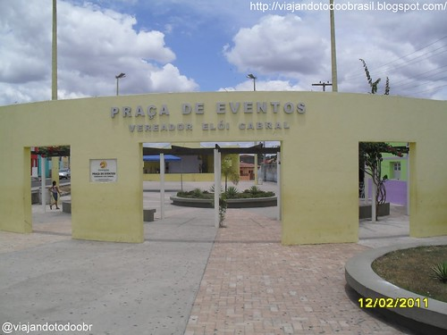 Girau do Ponciano - Praça Vereador Eloi Cabral