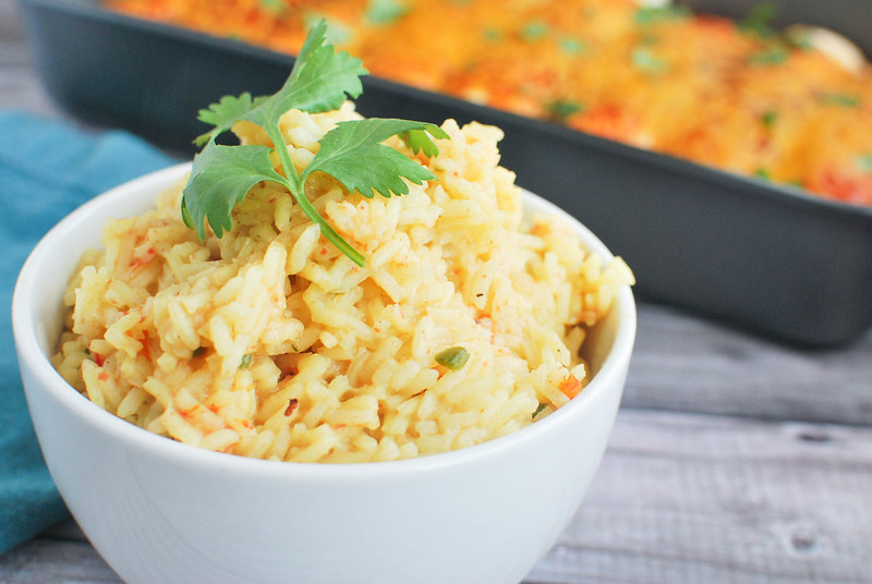 Mexican Rice - an easy and delicious recipe that goes perfectly with tacos, enchiladas, and burritos!