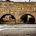 Pulteney Bridge,Bath, Avon.
