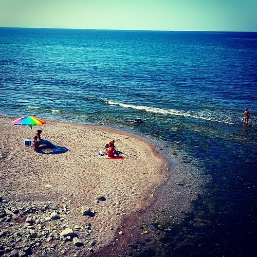 #theGIRA: mare vicino Agropoli