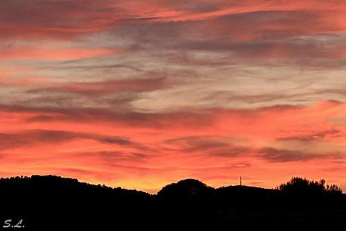 A l'heure du soleil couchant...