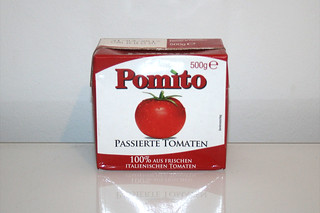 11 - Zutat passierte Tomaten / Ingredient sieved tomatoes