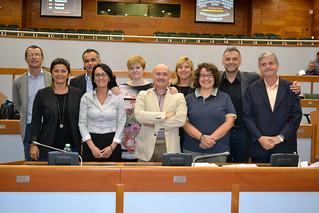Assieme ai Consiglieri e agli Assessori regionali romagnoli del Partito democratico