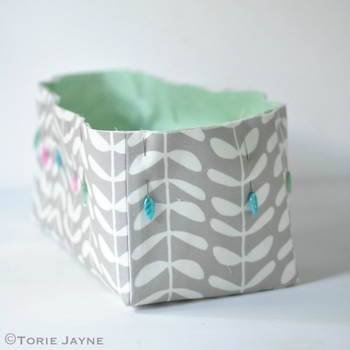 Fabric drawers 7