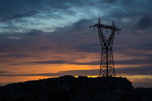 sunset sky machine greenland mast gl nuuk sermersooq kalender16