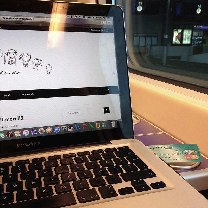 Päiväni junamatkailijana