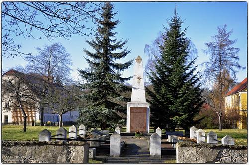 Lausitz - Sowj. Ehrenmal in Lohsa