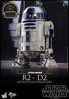 Hot Toys – MMS408 – STAR WARS:原力覺醒【R2-D2】1/6 比例機器人作品