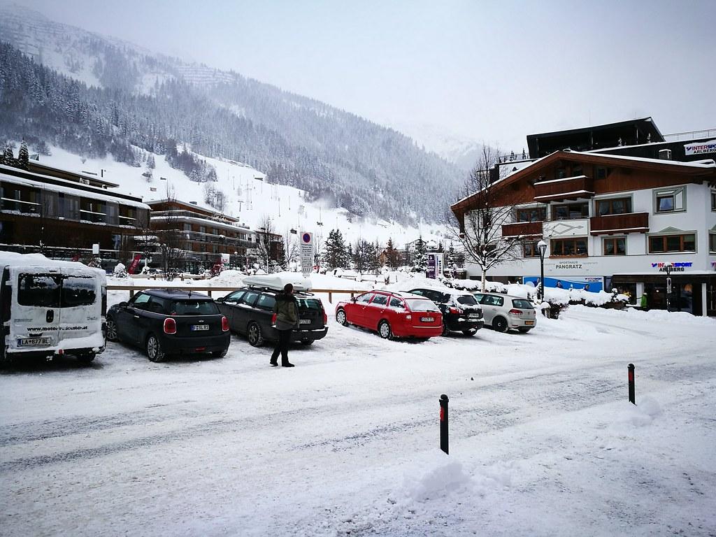 Car park at Dorfstrasse