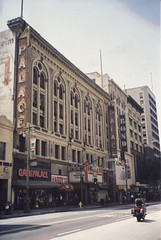 Los Angles  ~ California ~ Palace Theatre ~ Bond Clothing  ~ My Photo from 2001