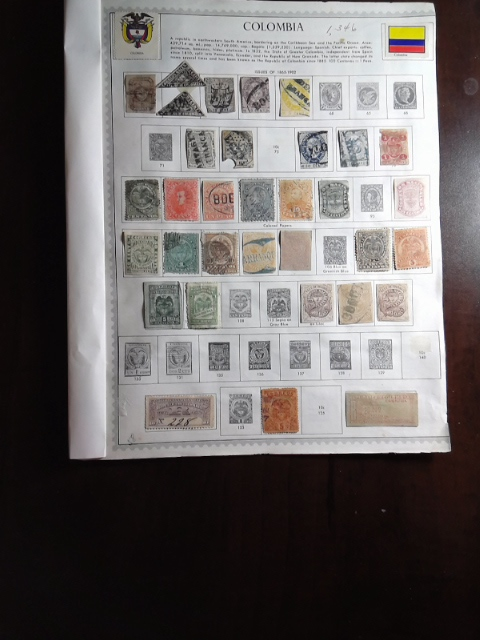 Lot of Colombia Stamps by StampPhenom.com