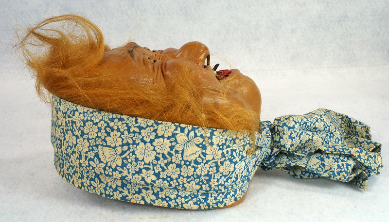 RD10680 Vintage Laffun Head Bibi Products Peter Figuren Old Woman DSC08342