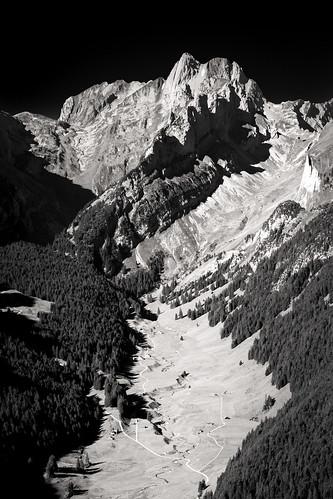 hoherkasten schweiz sommer wandern monochrome landscape swiss mountains hiking
