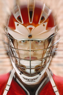 Lacrosse Player Portrait