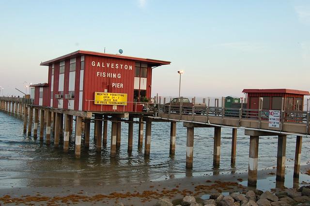 Fishing pier galveston island texas flickr photo for Galveston pier fishing