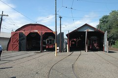 Only two barns were open