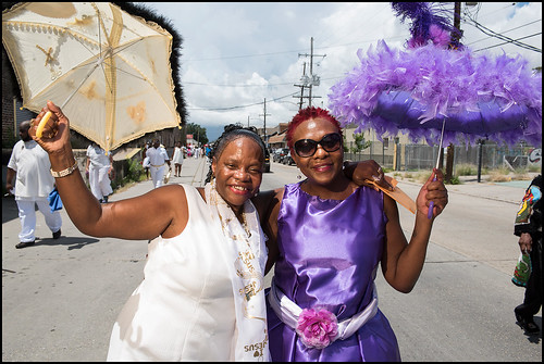 Wild Tchoupitoulas Big Queen Mary Kay Stevenson celebrates her mother Mercedes