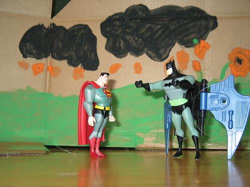 Batman Superman Joker Animation