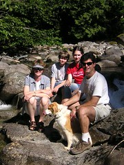 A family photo @ Deception Falls