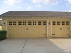 garage door, wood, property, door, real estate, facade, shed,