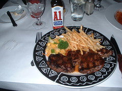 New York country club steak