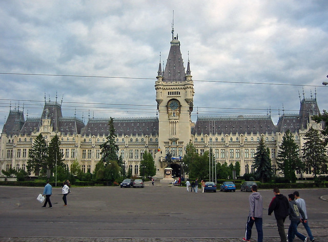 Cultural Palace in Iasi