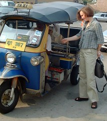 rickshaw, automobile, vehicle, motor vehicle,