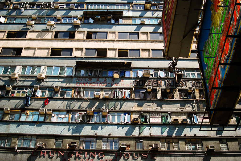 Chunking Mansions, Kowloon