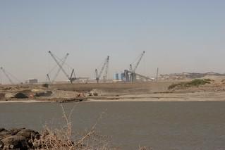 merowe dam activity