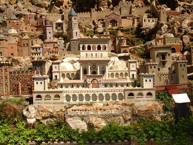The Temple in Miniature at Ave Maria Grotto, Cullman AL