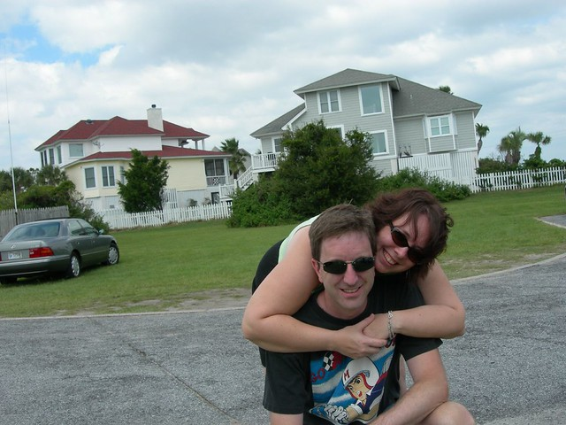 Me and Brook at Tybee.