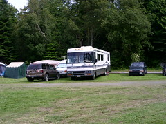 recreation(0.0), outdoor recreation(0.0), off-roading(0.0), automobile(1.0), vehicle(1.0), recreational vehicle(1.0), luxury vehicle(1.0), camping(1.0),