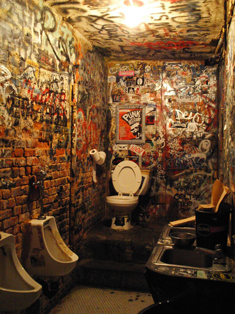 CBGB Bathroom Flickr Photo Sharing