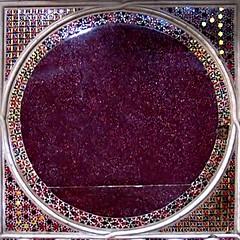 purple(0.0), flooring(0.0), eye(0.0), organ(0.0), magenta(1.0), violet(1.0), maroon(1.0), glitter(1.0), circle(1.0), carpet(1.0),
