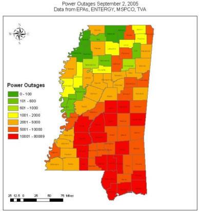 Giscorps Hurricane Katrina Maps Mississippi Map Of Missi Flickr