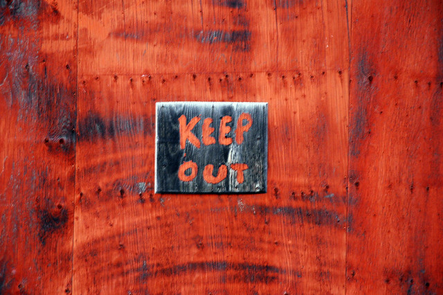 Photo:Keep Out By:Space Ritual