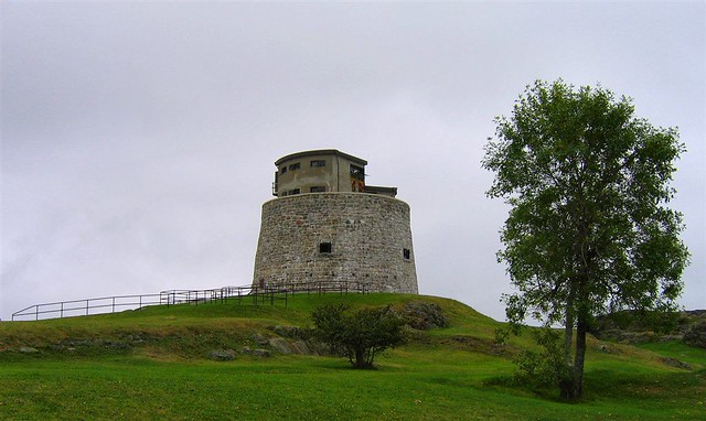 Carleton Martello Tower by CC user pisces63 on Flickr