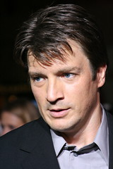 Nathan Fillion @ the Serenity Premiere