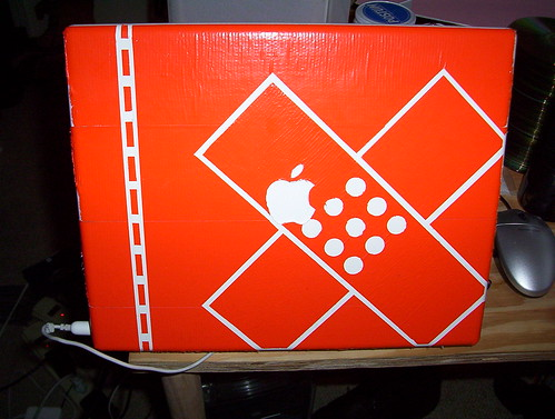 Duct Tape on iBook