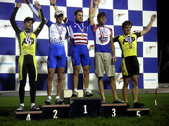 points race final podium