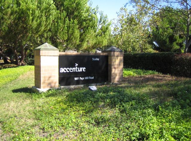 Header of Accenture
