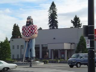 Paul Bunyon, Portland, Oregon