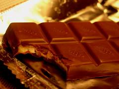 fudge(0.0), chocolate brownie(0.0), chocolate bar(1.0), confectionery(1.0), sweetness(1.0), food(1.0), chocolate(1.0), praline(1.0),
