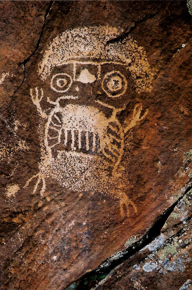 Rock Art - Dinwoody Si...