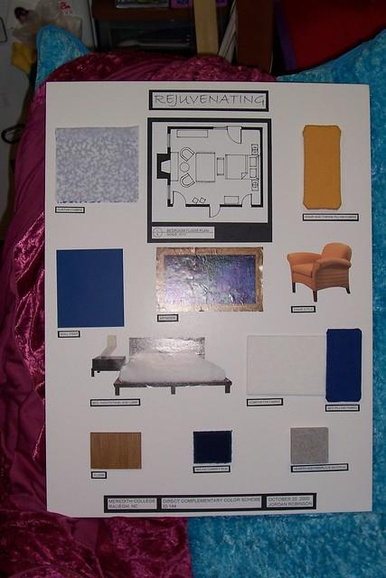 Bedroom Interior Design Board