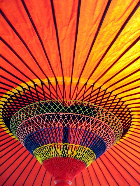 Colorful Japanese Umbrella